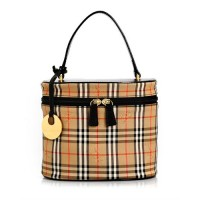 Burberry Check Cosmetic Case - 8/10 Condition